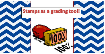 Stamps as Participation Grades