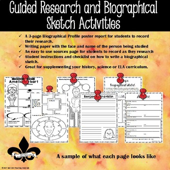 Stan Lee Guided Research Activity