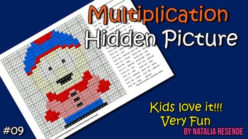 Stan - Multiplication Mystery Picture - Fun Math