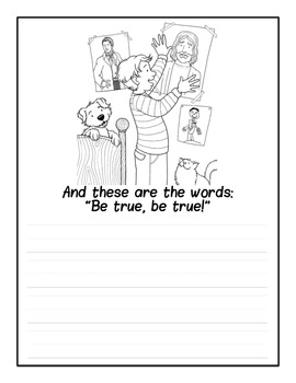 Stand For the Right Copywork Notebook