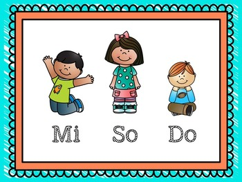 Stand, Kneel, Sit - A Body Levels Sight-Reading Activity for So-Mi-Do