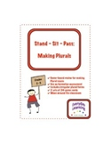 Stand Sit Pass Making Plural Nouns Review Game