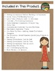 Stand Straight, Ella Kate by Klise Literacy Pack 15 Activi