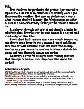 Stand Tall, Abe Lincoln - Comprehension - Common Core Aligned