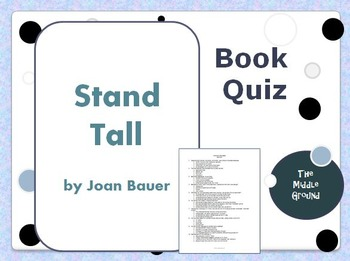 Stand Tall Book Quiz / Book Test