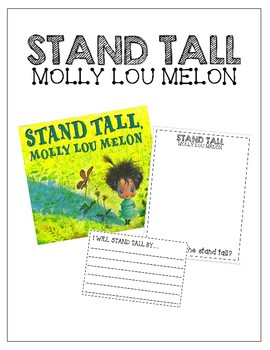 Stand Tall Molly Lou Lemon / Read-Aloud Book Companion