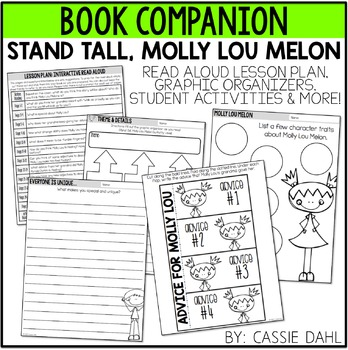 Stand Tall, Molly Lou Melon (Book Companion)