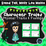 Stand Tall, Molly Lou Melon Activities - Character Traits Task Cards