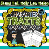 Stand Tall, Molly Lou Melon - Character Traits Sorting - Back to School