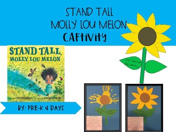 Stand Tall, Molly Lou Melon Craftivity and Writing Activity