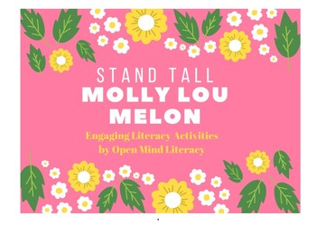 Stand Tall Molly Lou Melon {Engaging Reading Activities!} Common Core Aligned