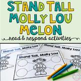 Stand Tall Molly Lou Melon FREEBIE: Read & Respond