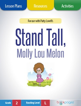 Stand Tall, Molly Lou Melon Lesson Plans & Activities, Sec