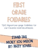 Stand Tall Molly Lou Melon One-Page Foldable