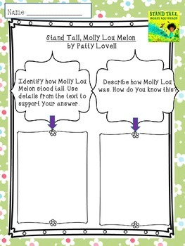 Stand Tall Molly Lou Melon Read-aloud Common Core