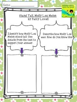 Stand Tall Molly Lou Melon Read-aloud Common Core
