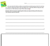 Stand Tall Molly Lou Melon-Reading Response Activity