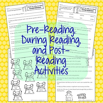 Stand Tall Molly Lou Melon Reading and Language Arts Activities {Common Core}