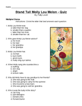 Stand Tall Molly Lou Melon by Patty Lovell