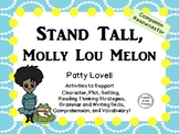 Stand Tall, Molly Lou Melon by Patty Lovell:   A Complete Literature Study!