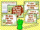 Growth Mindset Posters and Writing (Pineapple Chevron Theme)