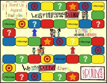 Stand Up Against Bullying Board Game- Savvy School Counselor