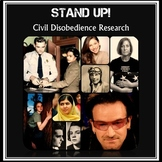 Stand Up!  Civil Disobedience Research Project and Informational Writing
