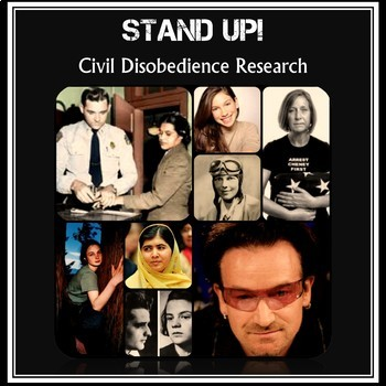 Stand Up Civil Disobedience Research Project And Informational Writing