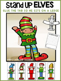 Stand-Up Elves Craft and Writing Activity