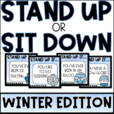 Stand Up OR Sit Down BRAIN BREAK | WINTER EDITION