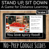 Stand Up Sit Down Brain Break | Distance Learning Game