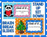 Stand Up Sit Down - Classroom Brain Break Games