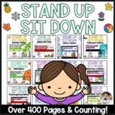 Stand Up Sit Down Brain Break Bundle for Google Slides™