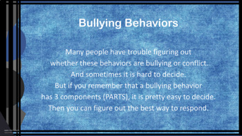 Stand Up To Bullying w 4 video links PBIS Bystander VS Witness