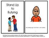 Stand Up to Bullying Social Story