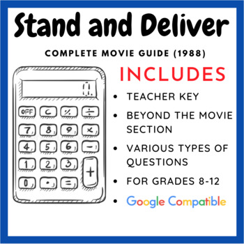 Stand and Deliver - Complete Movie Guide