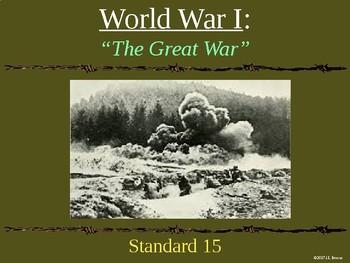 Standard 15 (World War 1) GSE