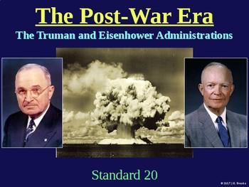 Standard 20 (The Cold War and Post-War Era)