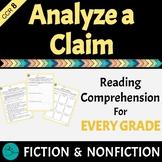 Analyze a Claim RI.8 Differentiated For Every Grade