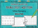 Standard Algorithm Double-Digit Addition Without Regroupin