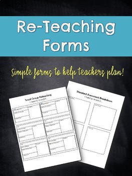 Re-Teaching Forms