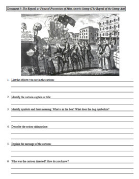 Standard Based Notebook: Colonial Documents & Declaration of Independence