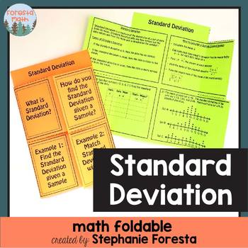 how to find the standard deviation in maths