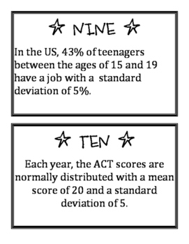 Standard Deviation Learning Cycle