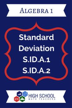 Standard Deviation Lesson Plan S.ID.A.1 & S.ID.A.2