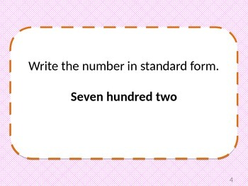 Standard, Expanded, and Word Form Review PowerPoint Presentation: 24 Questions