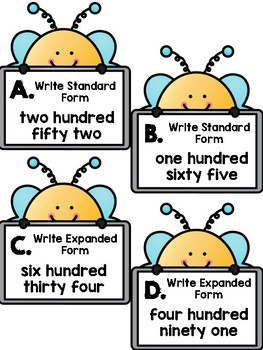 Standard, Expanded, and Word Form Scoot