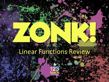 Standard Form and Slope-Intercept Form ZONK! Review Game