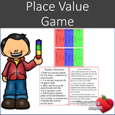 Standard Form and Word Form Place Value Game