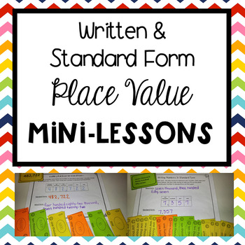 Standard Form and Written Form Mini-Lessons